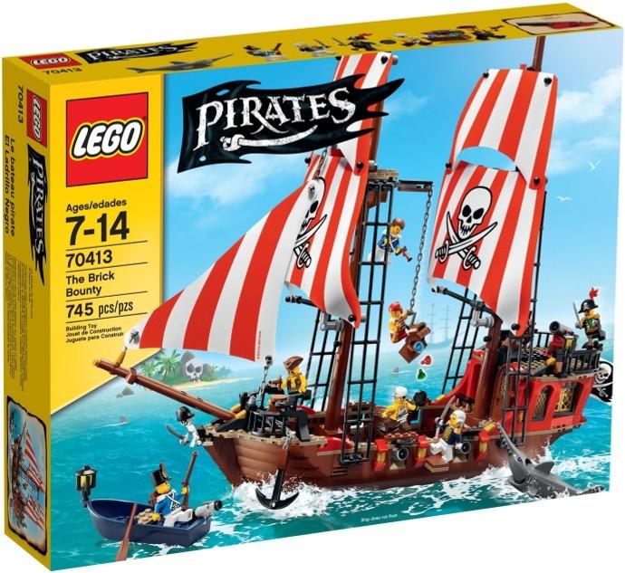 70413 LEGO® Pirates The Brick Bounty