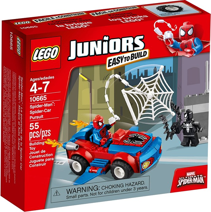 10665 LEGO® Spider-Man: Spider-Car Pursuit