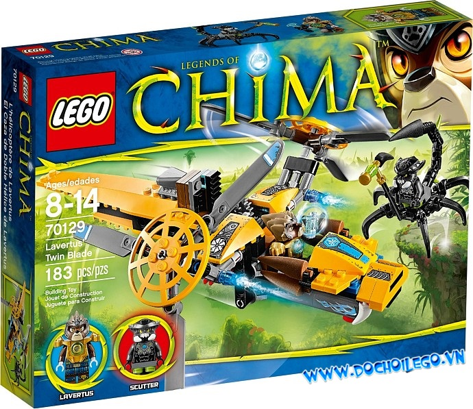 70129 LEGO® Lavertus' Twin Blade
