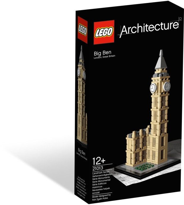 21013 LEGO® Architecture Big pen