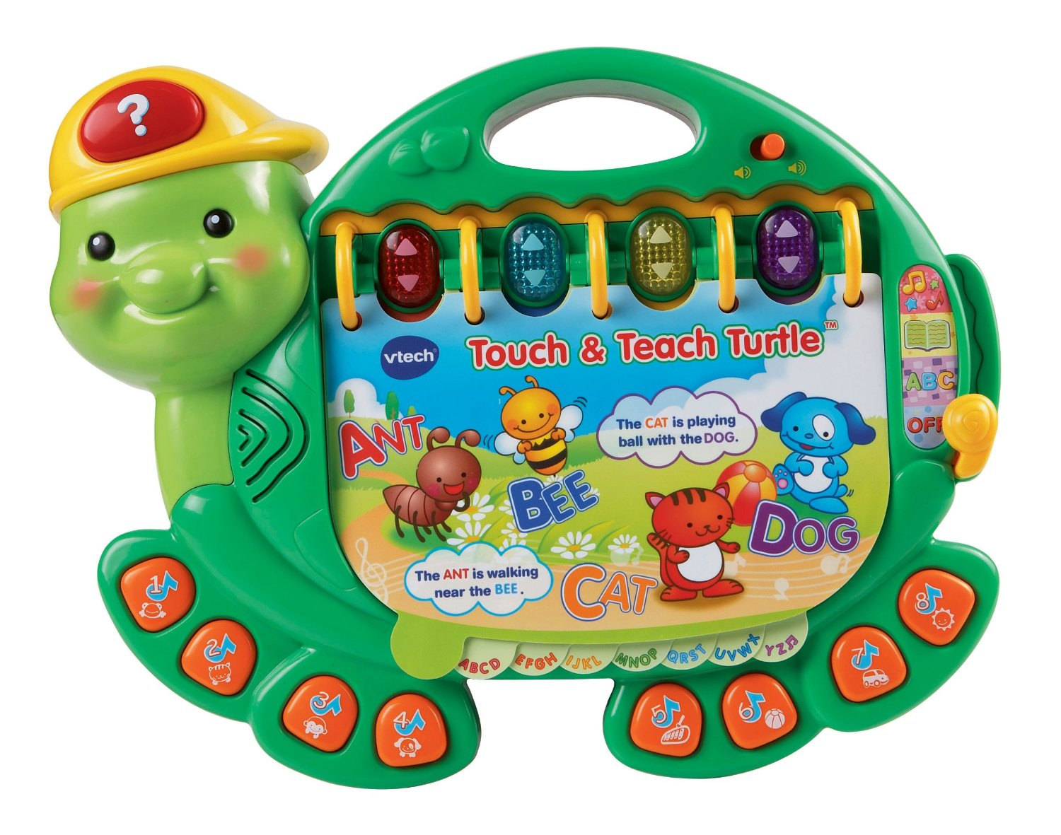 Touch and Teach Turtle- Rùa học chữ Vtech