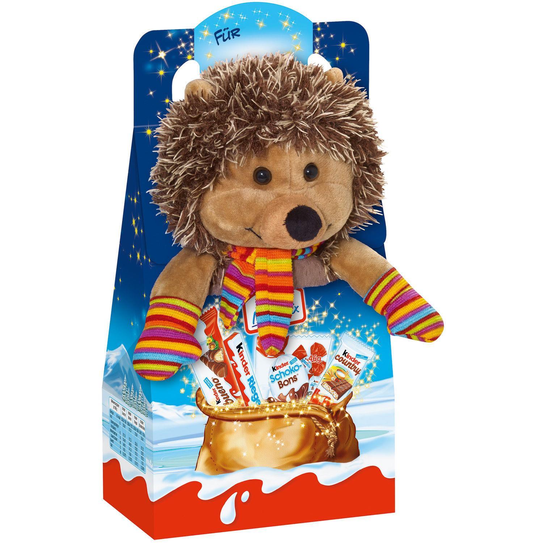 Thú bông Nhím + Kẹo Chocolate Kinder