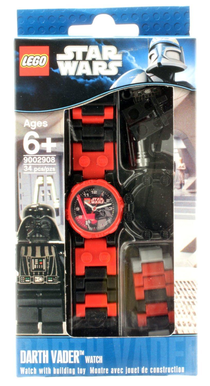 9002908 LEGO® Kids' Star Wars Darth Vader Watch With Minifigure