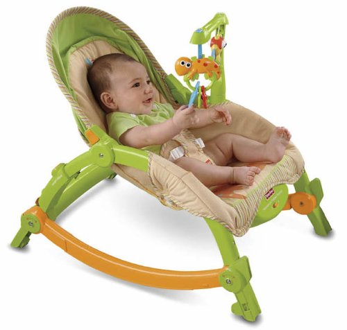 T2518 Fisher Price® Newborn-to-Toddler Portable Rocker - Ghế rung Fisher Price