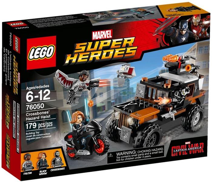 76050 LEGO® Super Heroes Crossbones' Hazard Heist