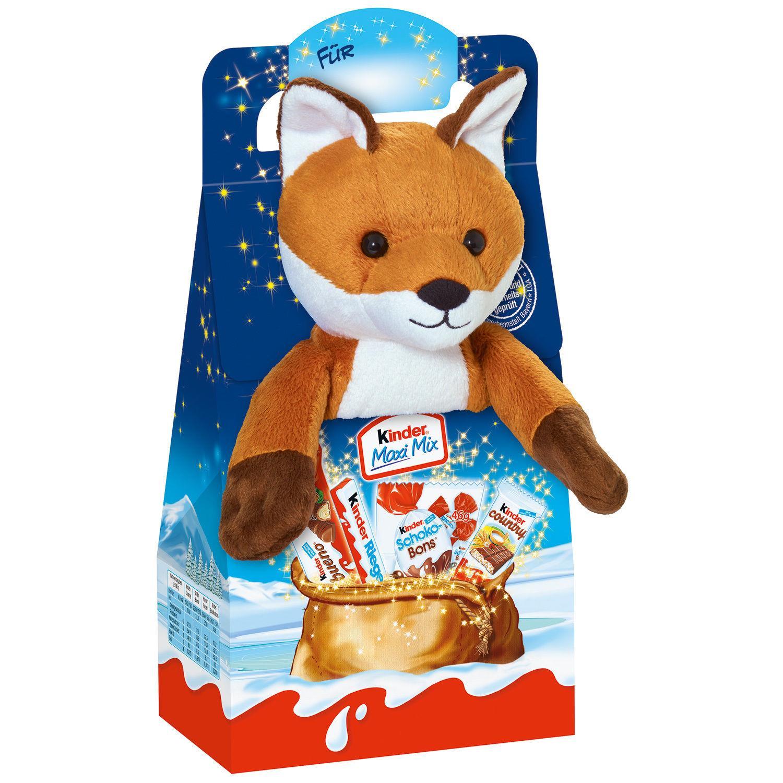 Thú bông Cáo + Kẹo Chocolate Kinder
