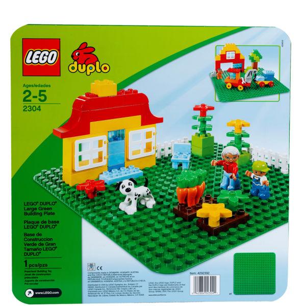 2304 LEGO®  Duplo Green Building Plate (Tấm nền)