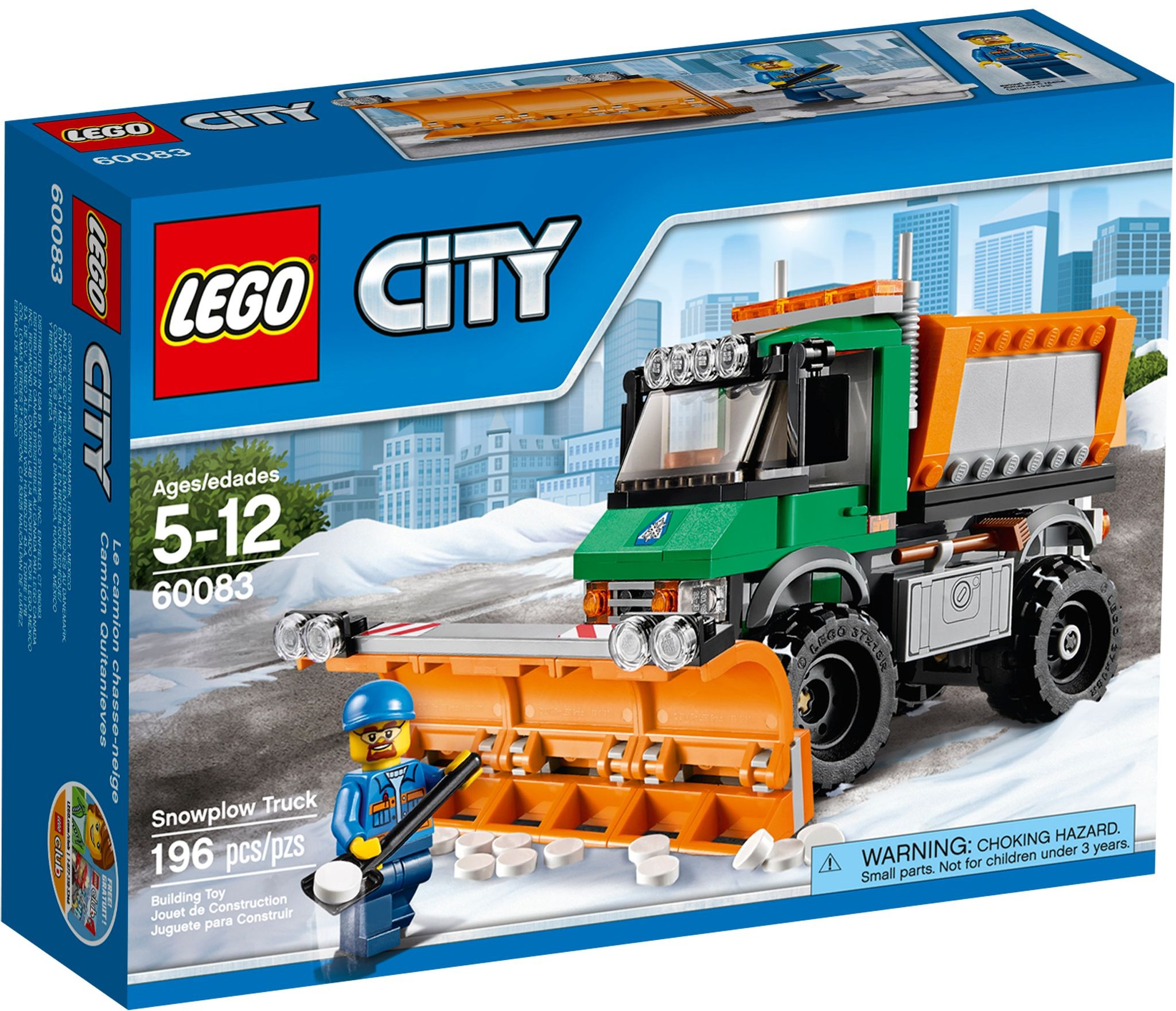 60083 LEGO® City Snowplough Truck
