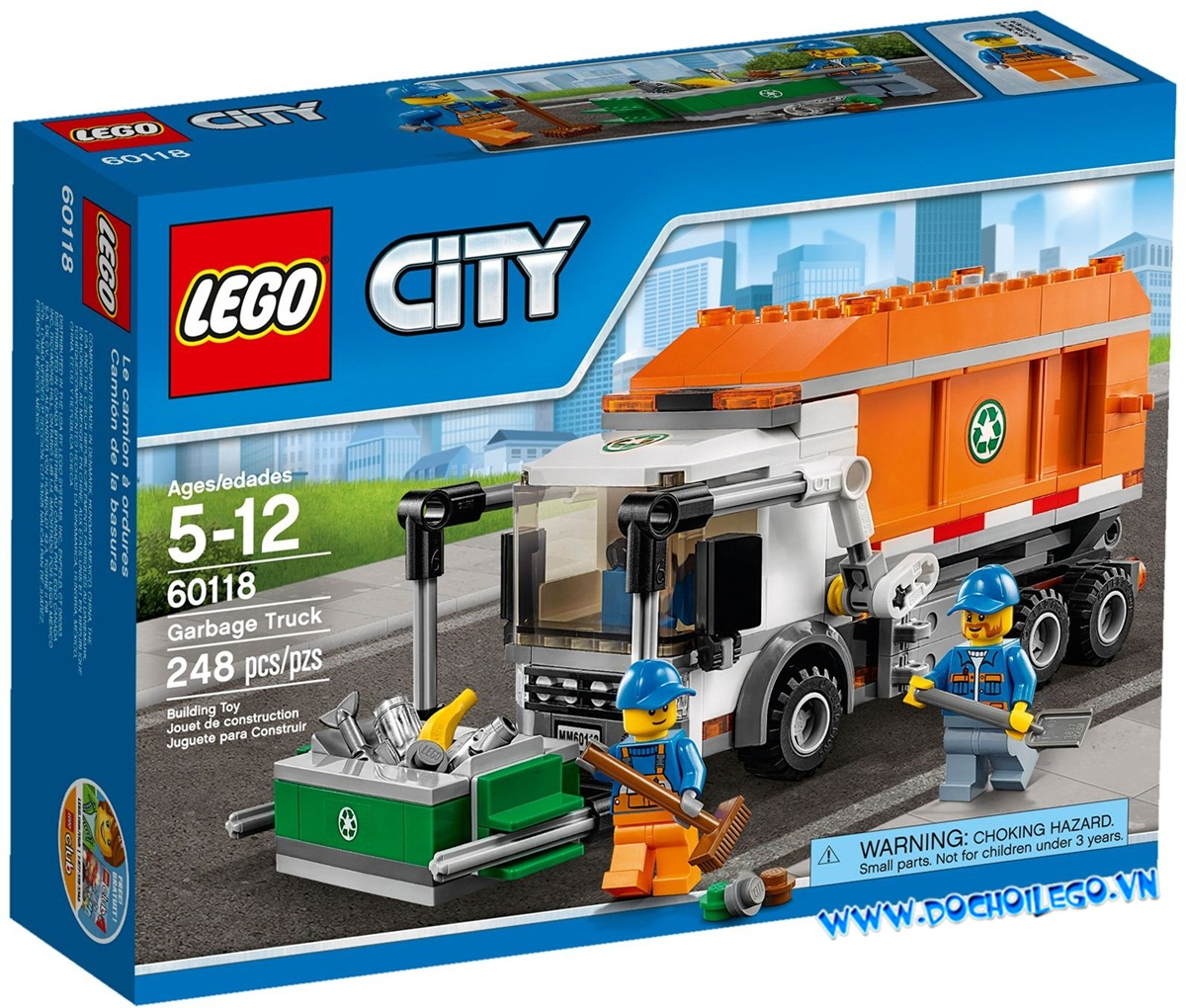 60118 LEGO City Garbage Truck