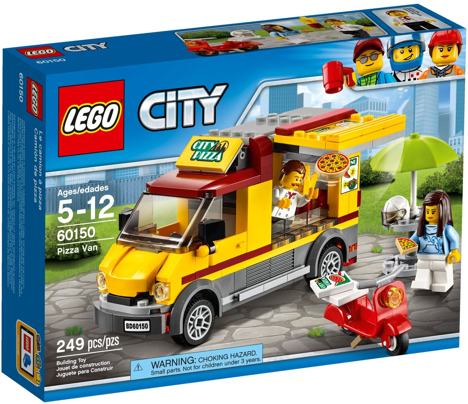 60150 LEGO City Great Vehicles Pizza Van