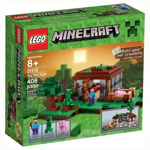 21115 LEGO® Minecraft The First Night