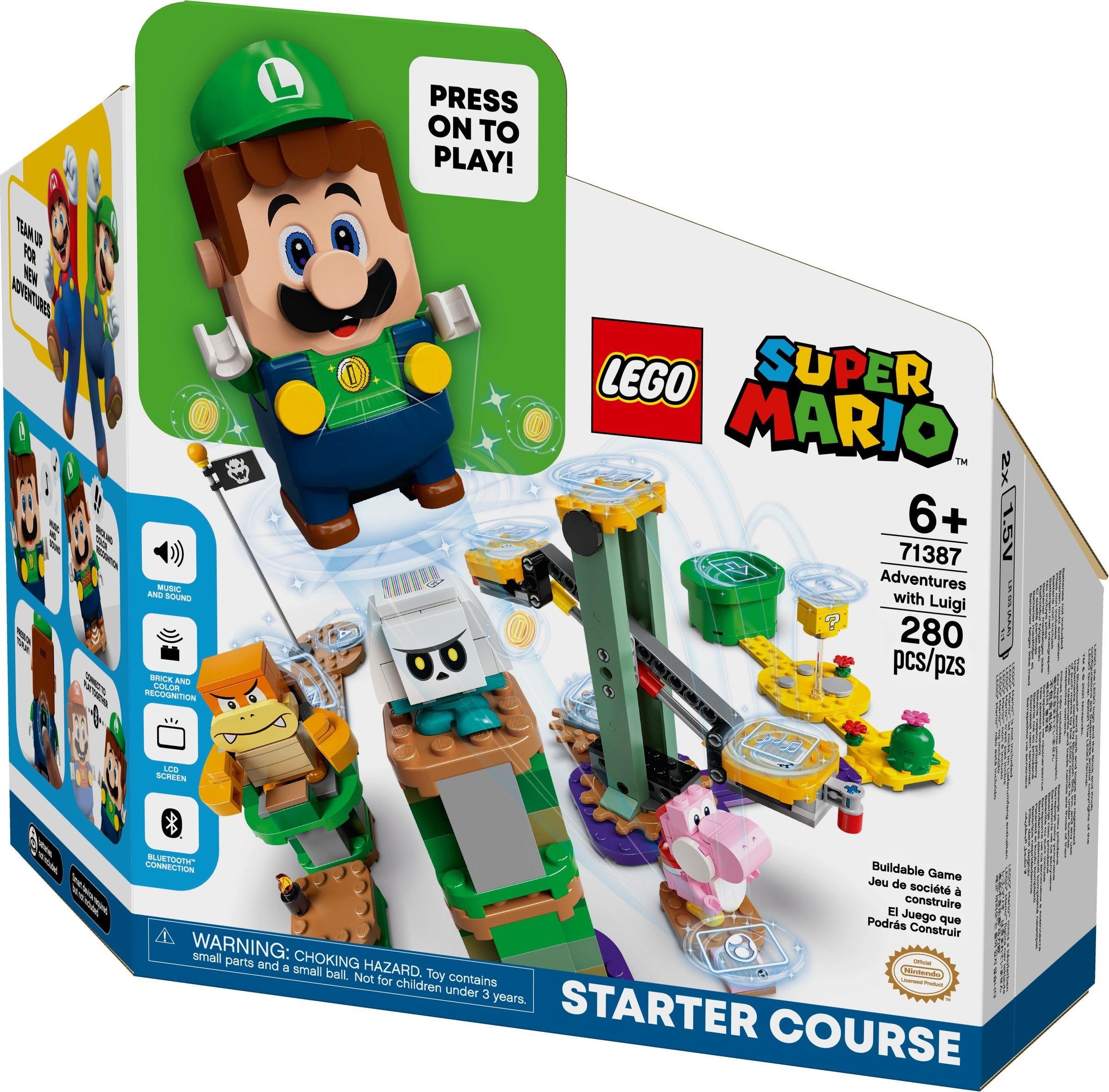 71387 LEGO Super Mario Adventures with Luigi - Cuộc phiêu lưu cùng Luigi