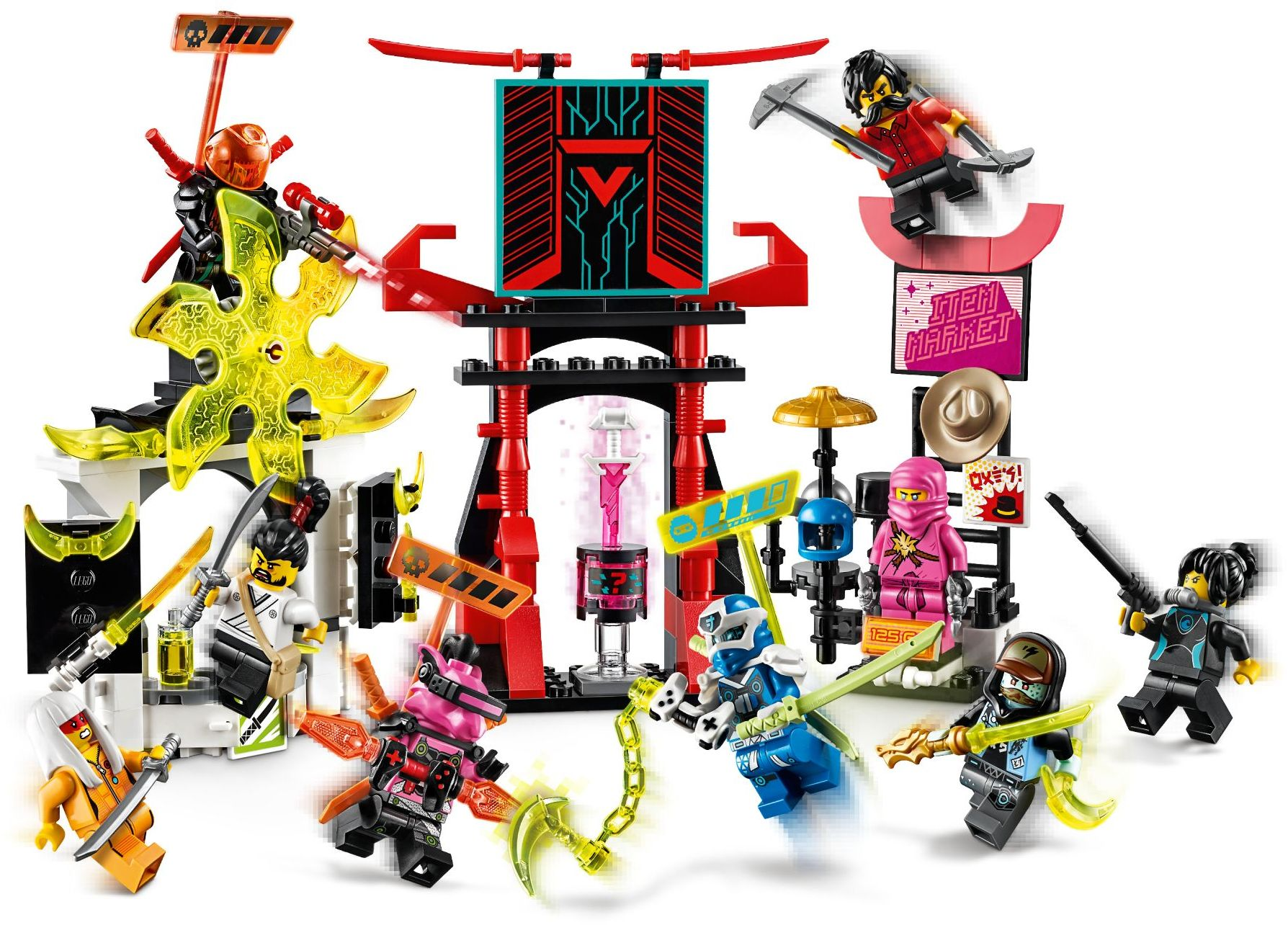 71708 LEGO Ninjago PRIME EMPIRE Gamer's Market - Hội chợ game thủ