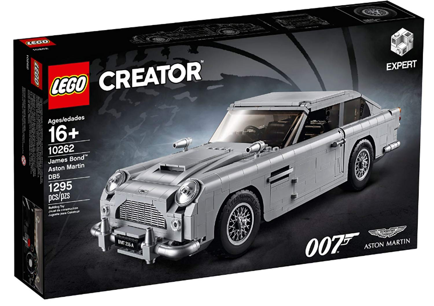 10262 LEGO®CREATOR James Bond Aston Martin DB5