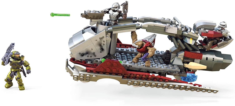 Mega Construx Halo Skiff Intercept vehicle Halo Infinite Spartan MK VII GNB21