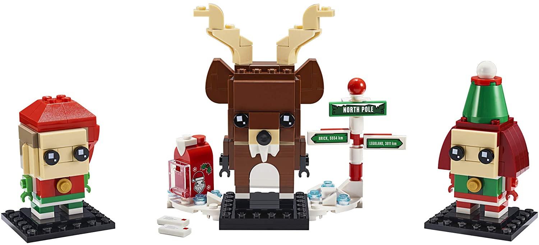 40353 LEGO Reindeer, Elf and Elfie  - Bộ xếp hình Noel - Tuần lộc