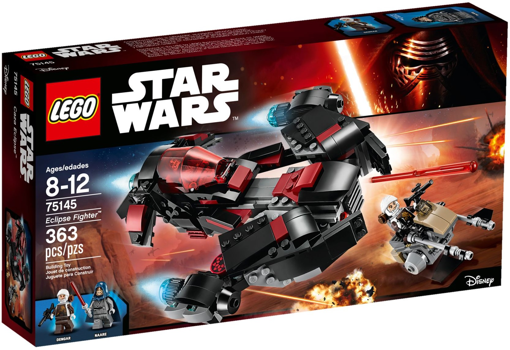 75145 LEGO®Star wars Eclipse Fighter