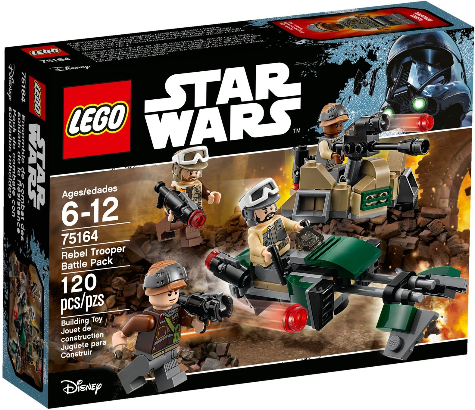 75164 LEGO® Star wars Rebel Trooper Battle Pack