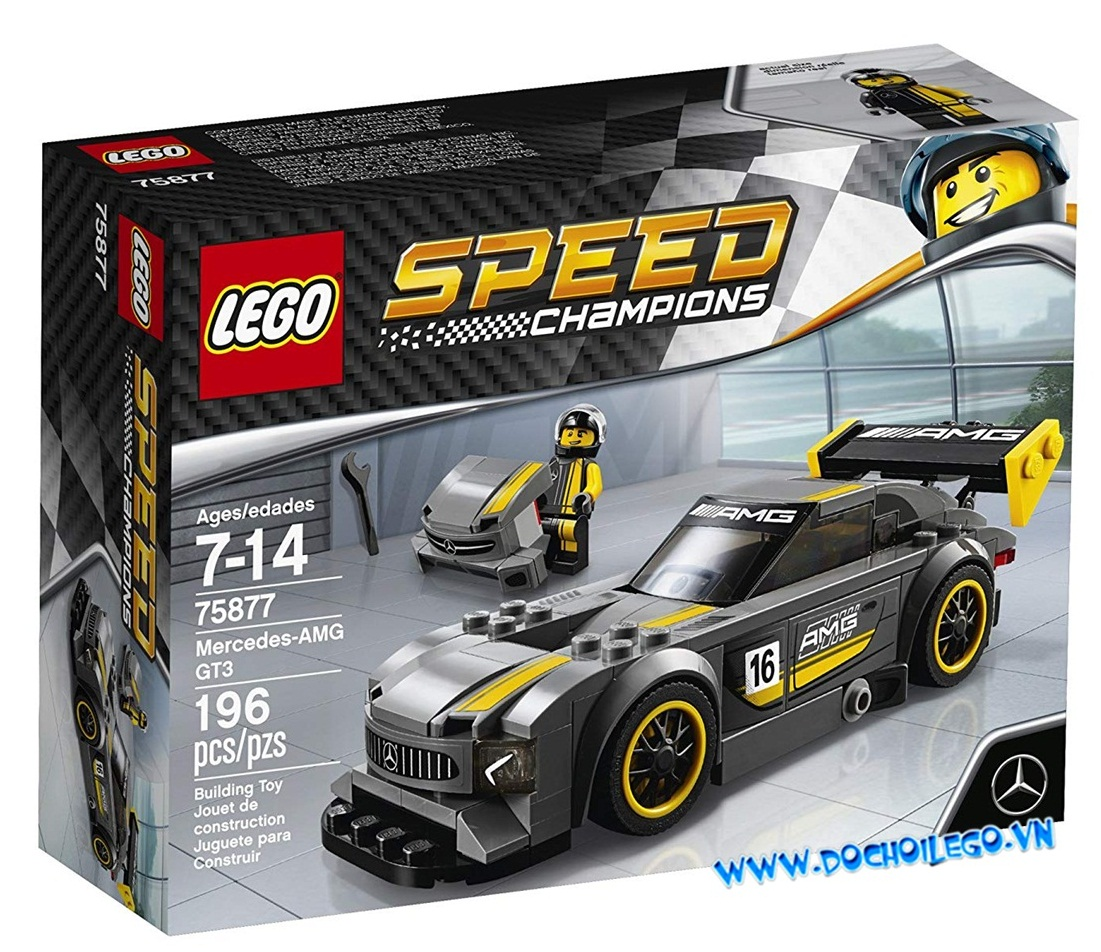 75877 LEGO® Speed Champions Mercedes-AMG GT3