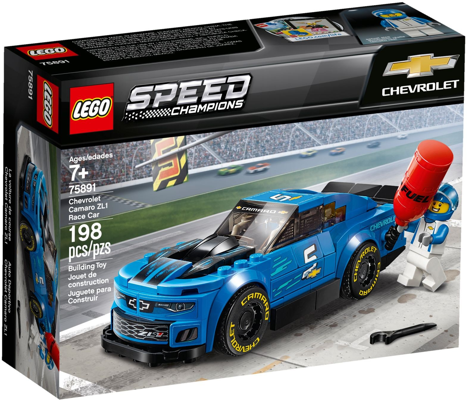 75891 Siêu xe  LEGO Chevrolet Camaro ZL1 Race Car