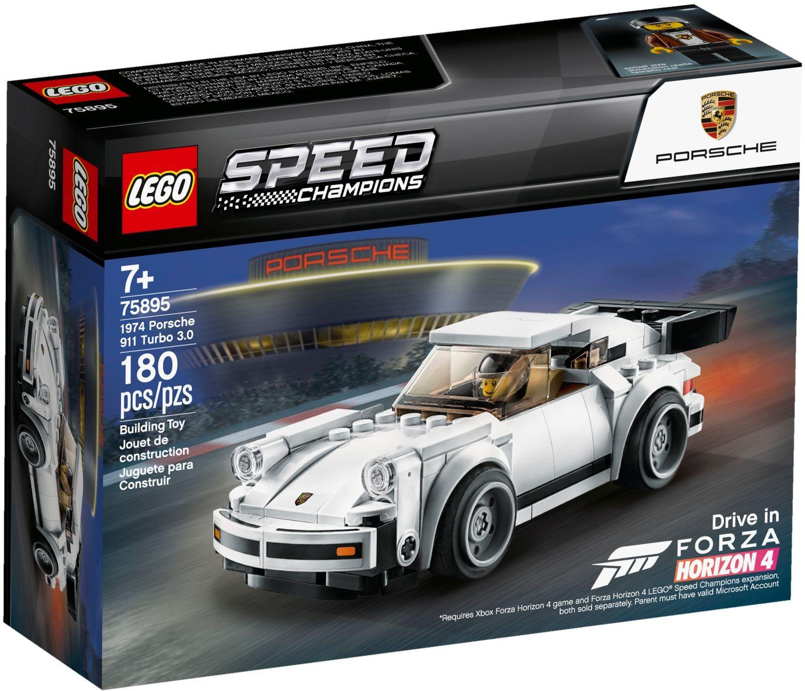 Lego 75895 1974 Porsche 911 Turbo 3.0 - siêu xe
