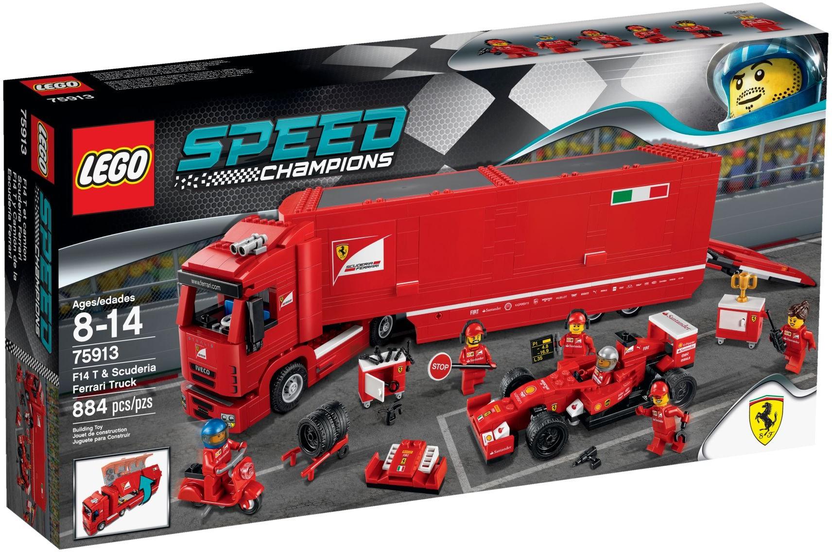 75913 LEGO F14 T & Scuderia Ferrari Truck 516
