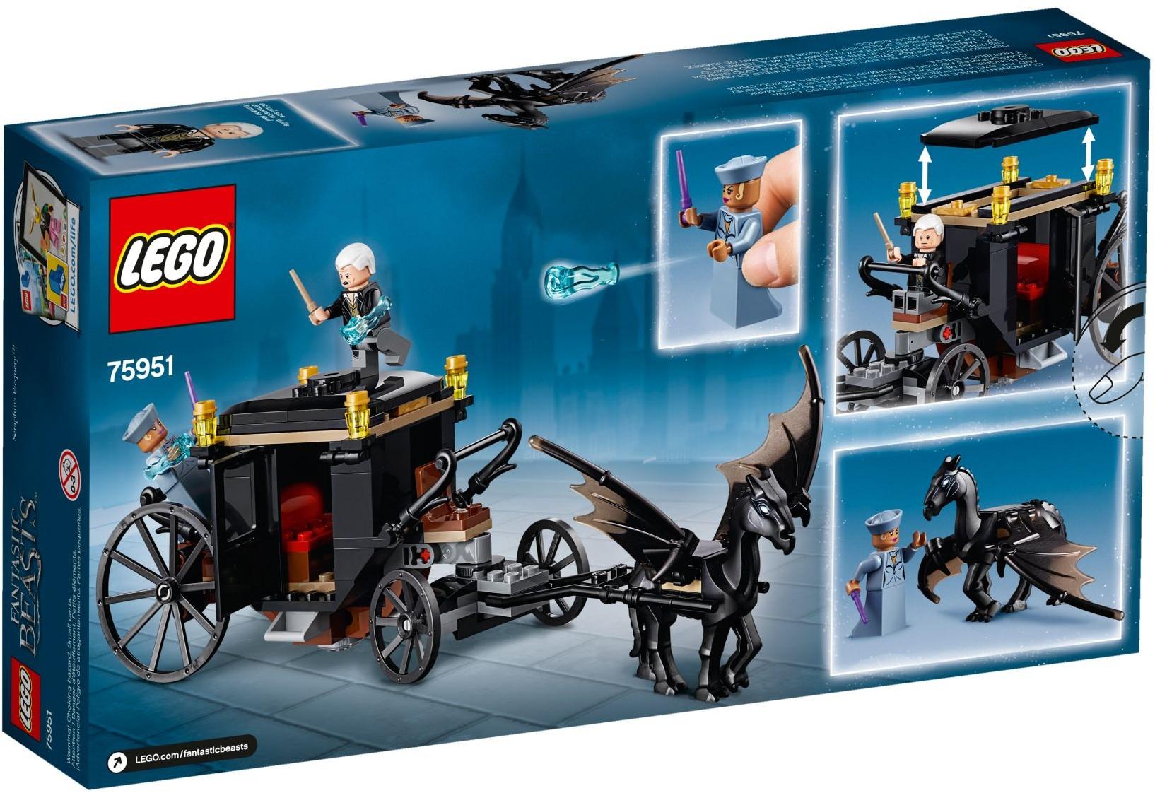 75951 LEGO Grindelwald´s Escape