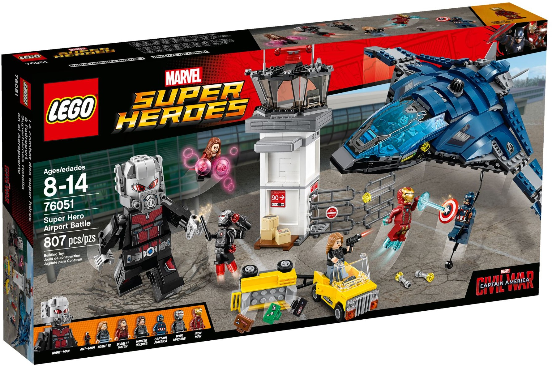 76051 LEGO®Super Hero Airport Battle