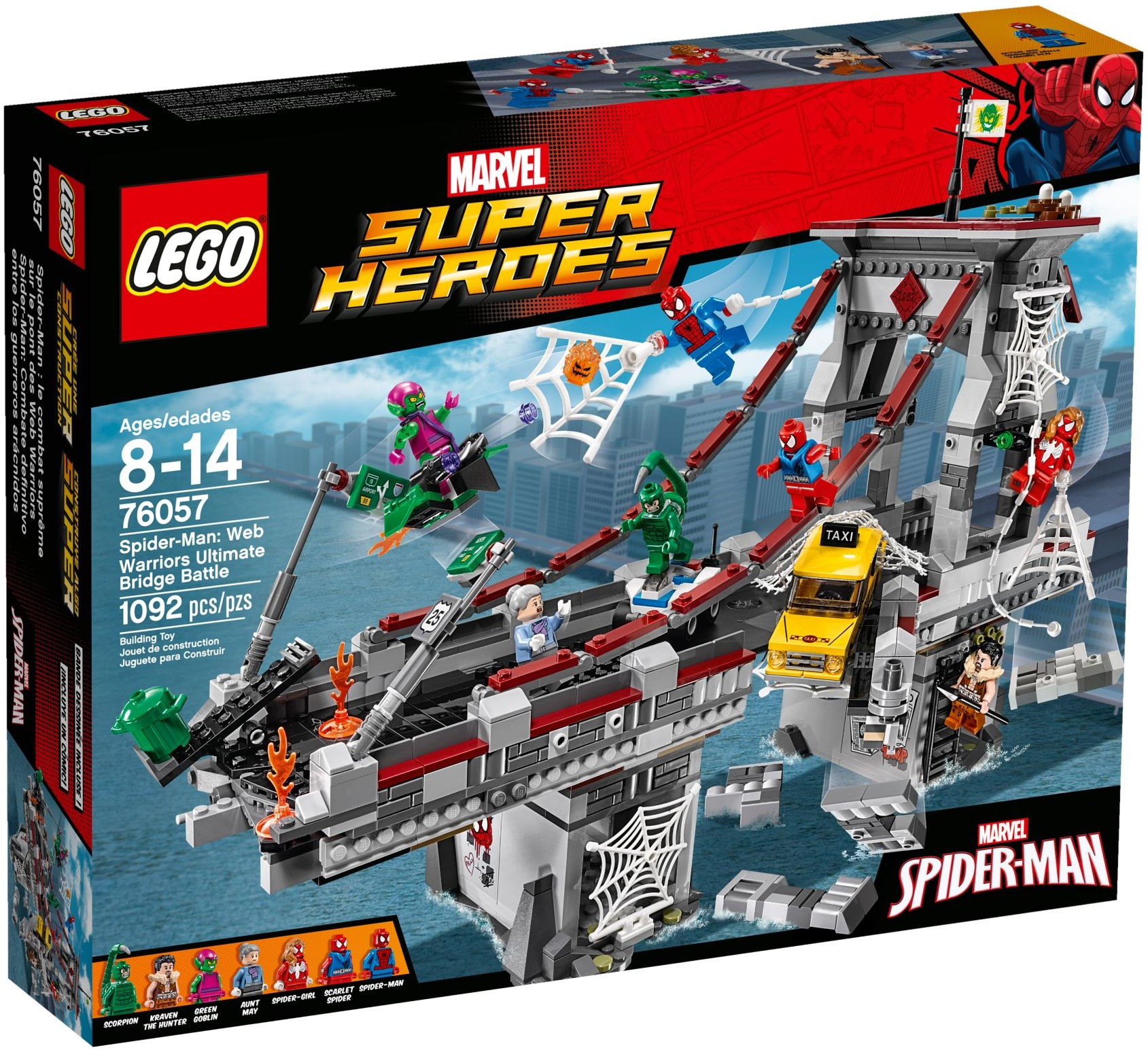 76057 LEGO® Spider-Man™: Web Warriors Ultimate Bridge Battle