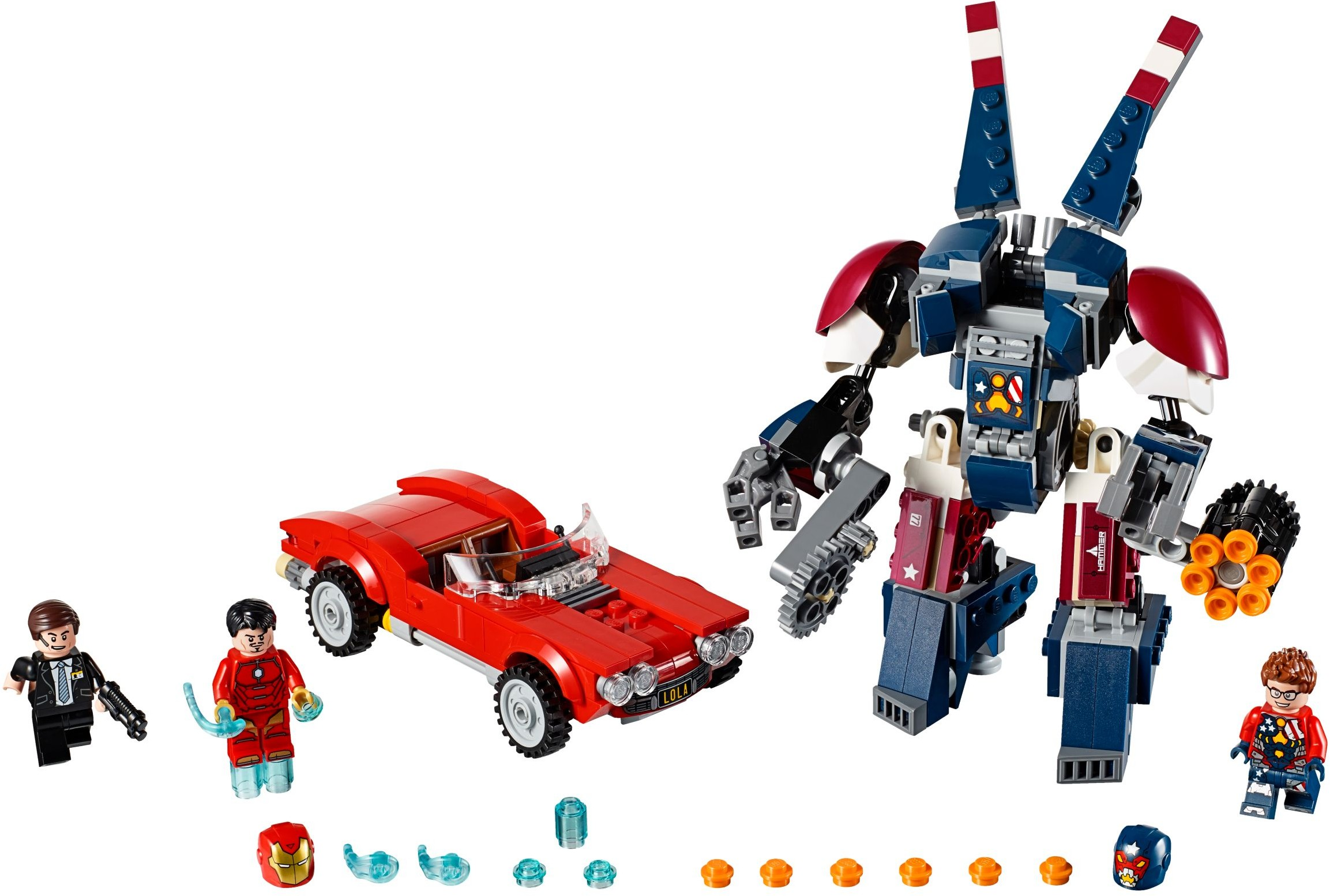 76077 LEGO® Iron Man: Detroit Steel Strikes