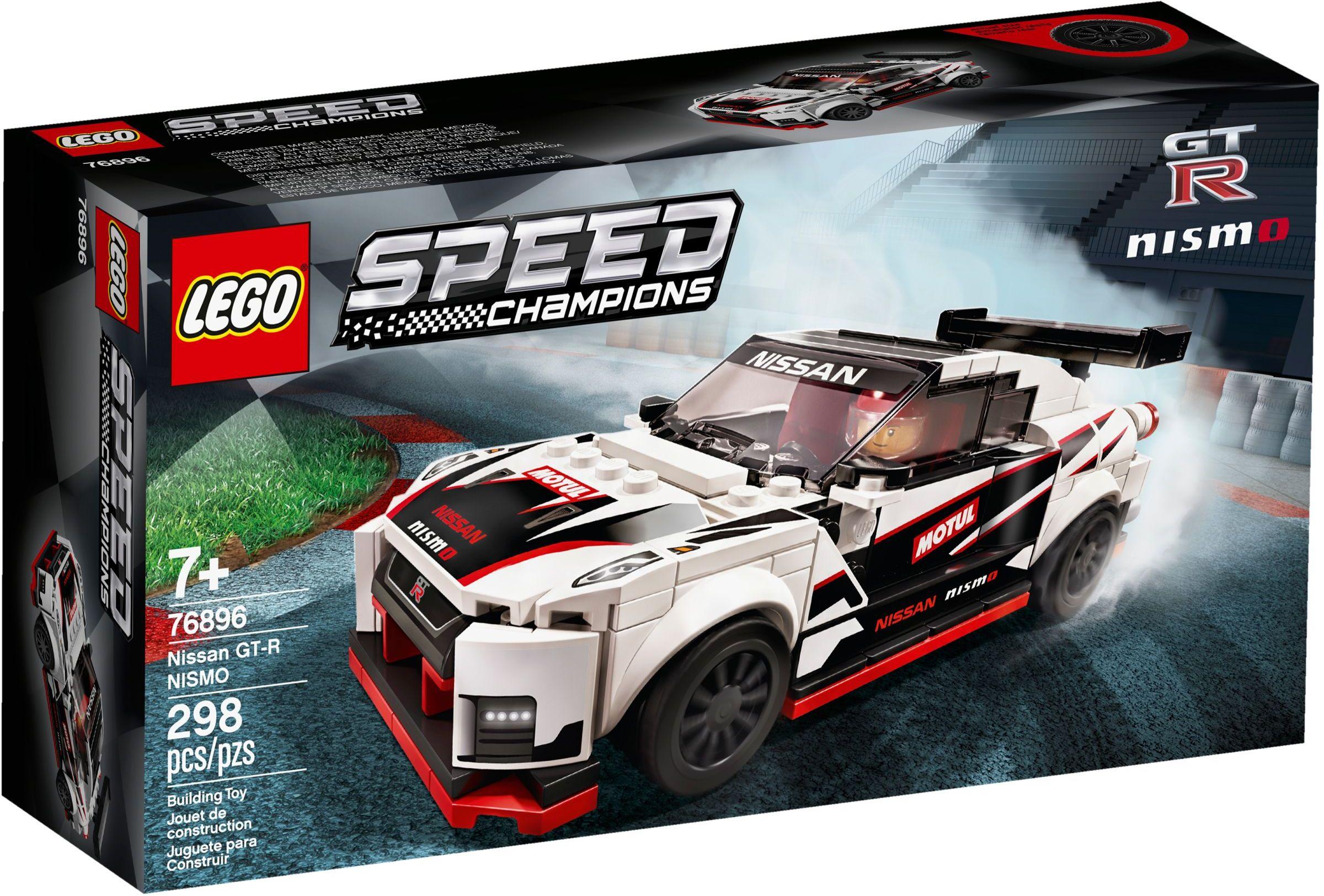 76896 LEGO Nissan GT-R NISMO - Xe đua Nissan GT-R NISMO