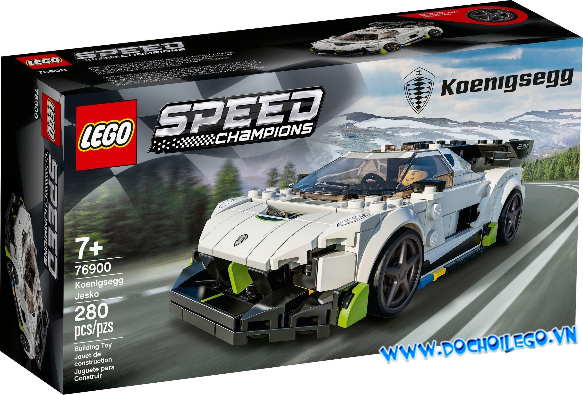 76900 LEGO Speed Champions Koenigsegg Jesko - Đồ chơi LEGO