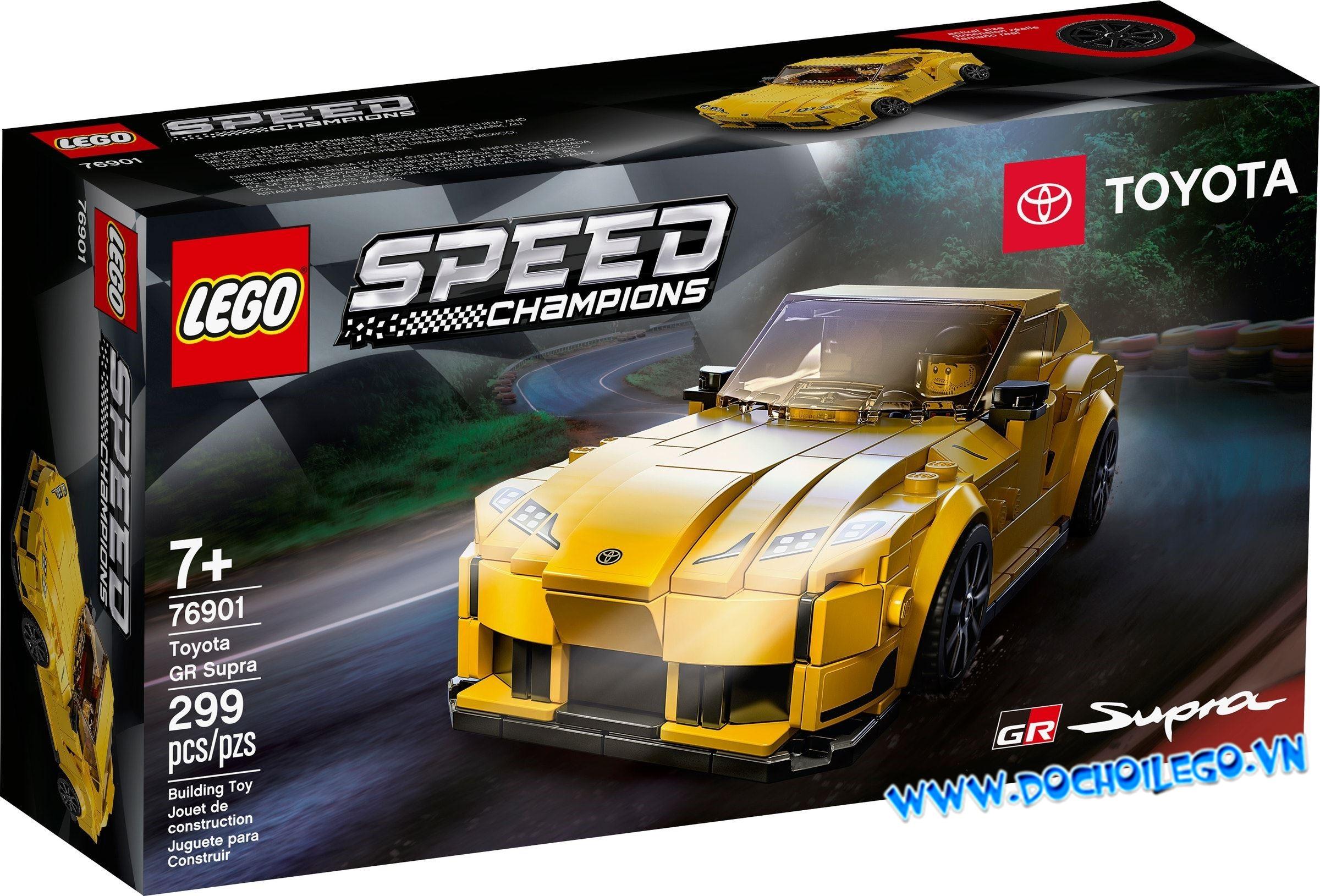 76901 LEGO Speed Champions Toyota GR Supra - Đồ chơi LEGO
