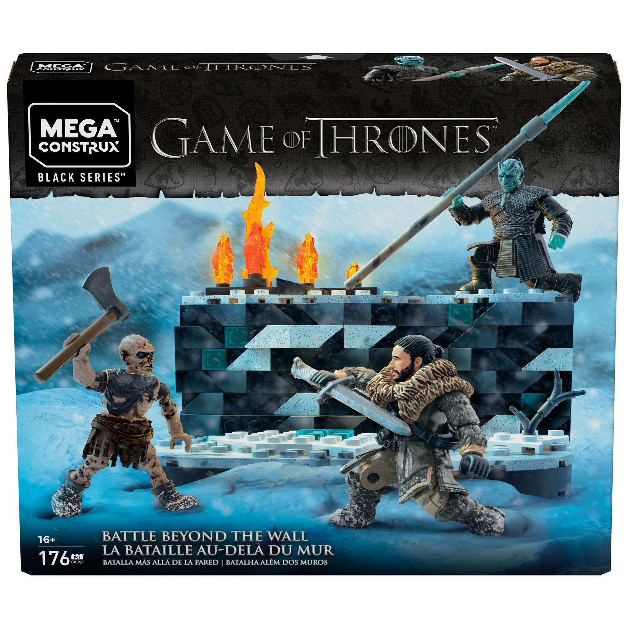 White Walker Battle -  Game of Thrones:  Trận chiến trắng Game of Thrones MEGA CONSTRUX