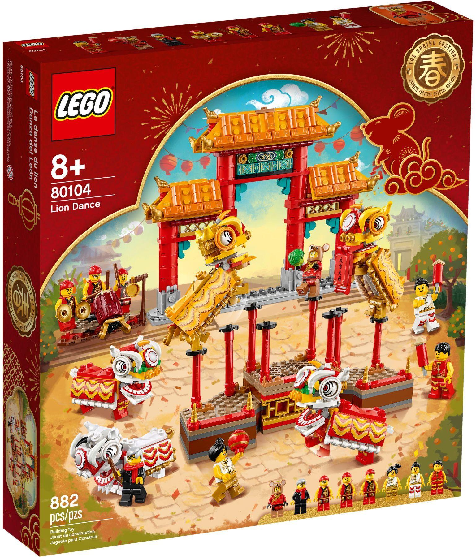80104 LEGO Chinese Lion Dance - Múa Lân
