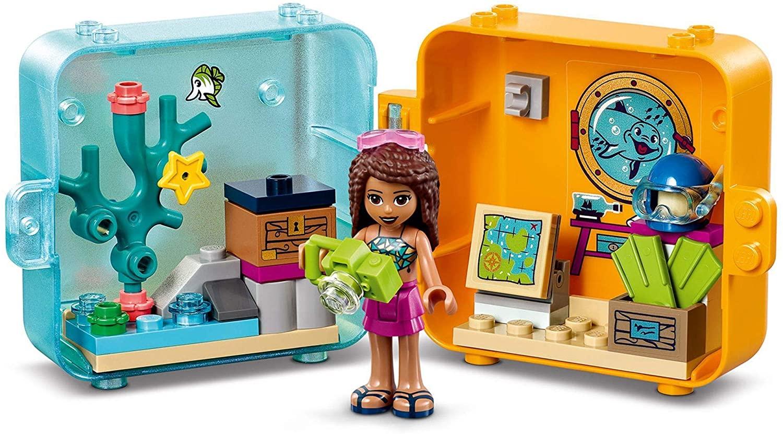 41410 LEGO Friends Andrea's Summer Play Cube_ Bộ đồ chơi du lịch #3