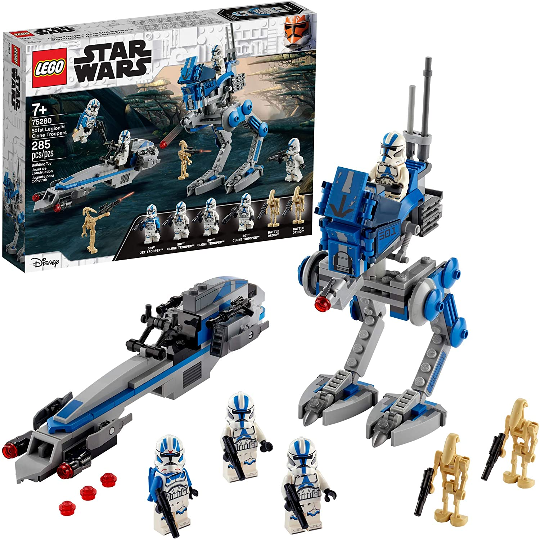 75280 LEGO Star Wars 501st Legion Clone Troopers  - Binh Đoàn 501 Clone Troopers