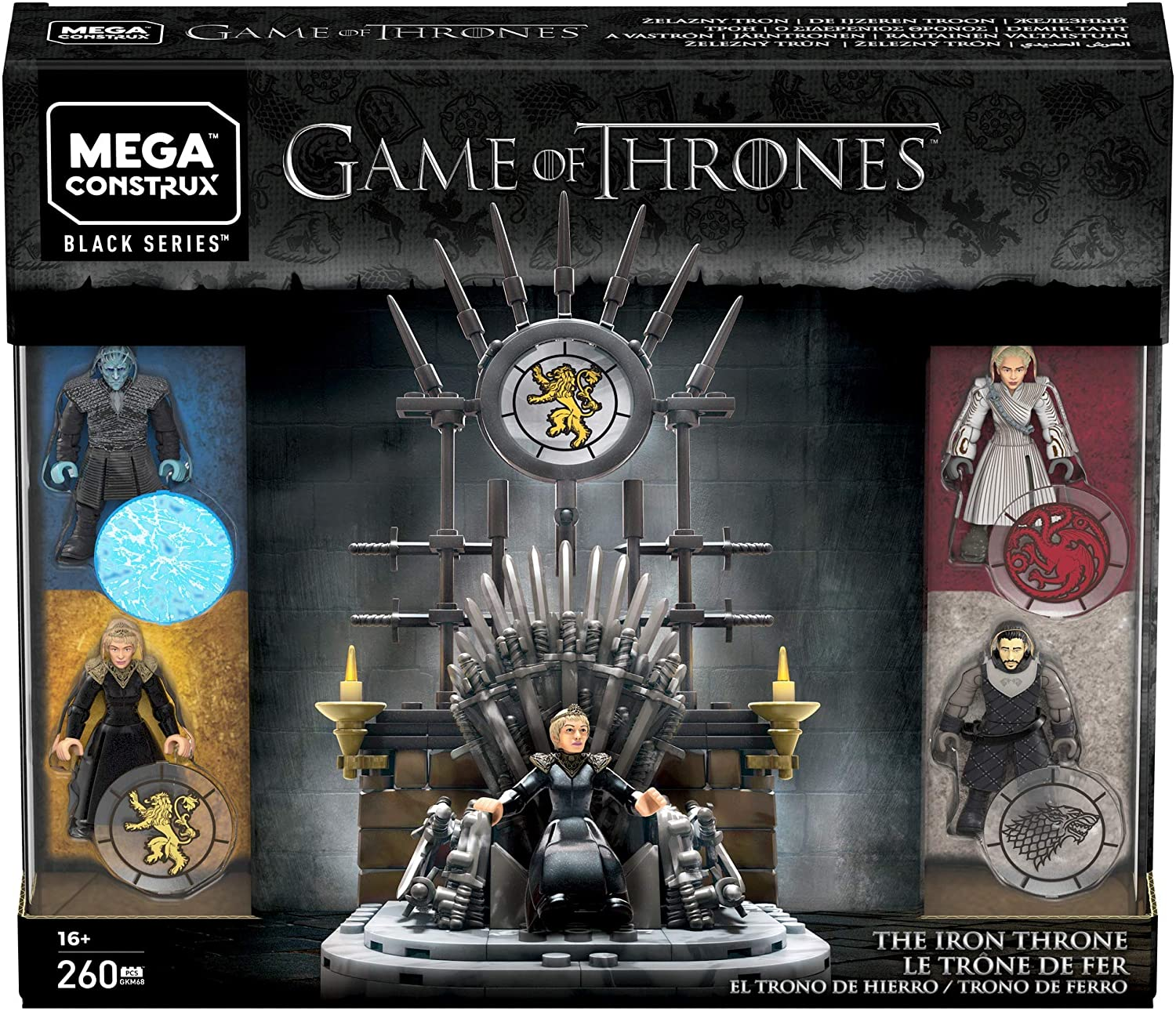 Mega Construx Game of Thrones The Iron Throne - Ngai sắt