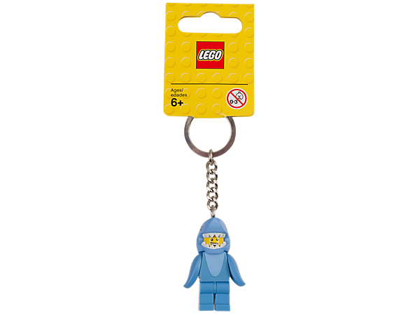 853666 LEGO® Shark Suit Guy Key Chain
