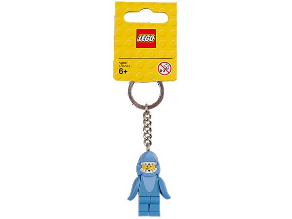 853666 LEGO® Shark Suit Guy Key Chain