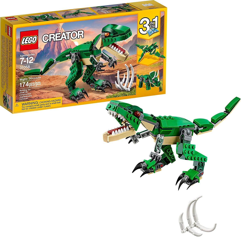 31058 LEGO 3in1 Creator Mighty Dinosaurs - Bộ xêp hình khủng long