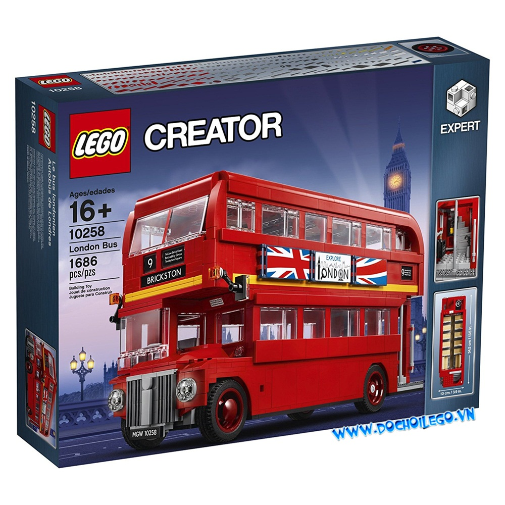 10258 LEGO®Creator Expert London Bus