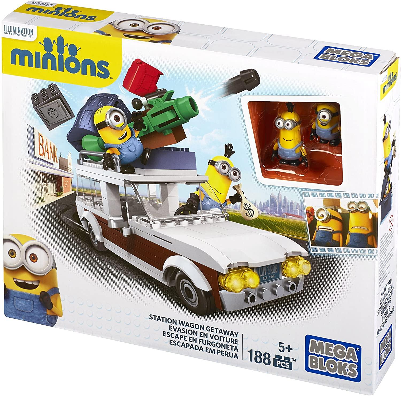 Mega Bloks Minions Station Wagon Getaway - Bộ xếp hình Mega bloks