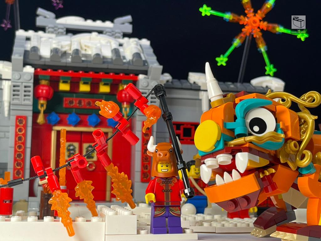 80106 LEGO Chinese Traditional Festivals Story of Nian - Câu chuyện về Nian - Bộ LEGO tết 2021