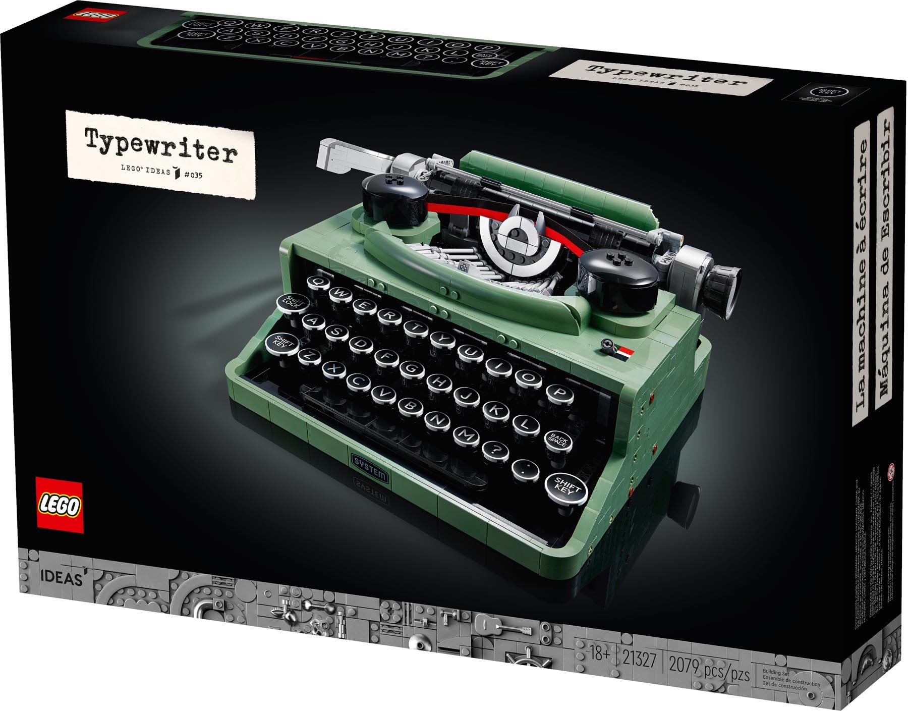 21327 LEGO Ideas Typewriter - Mô hình Máy đánh chữ