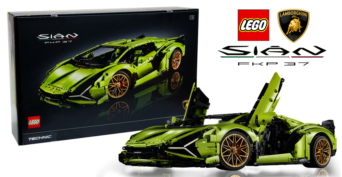 42115 LEGO TECHNIC LAMBORGHINI SIÁN FKP 3