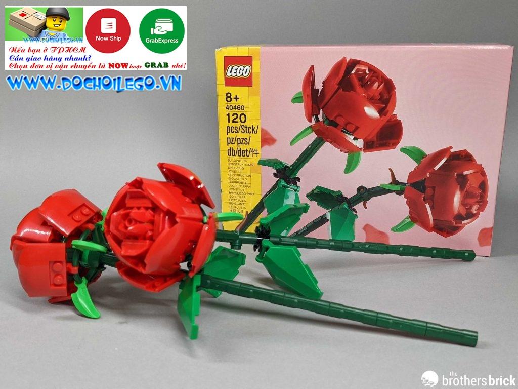 40460 LEGO Creator Roses - Đồ chơi LEGO Hoa hồng