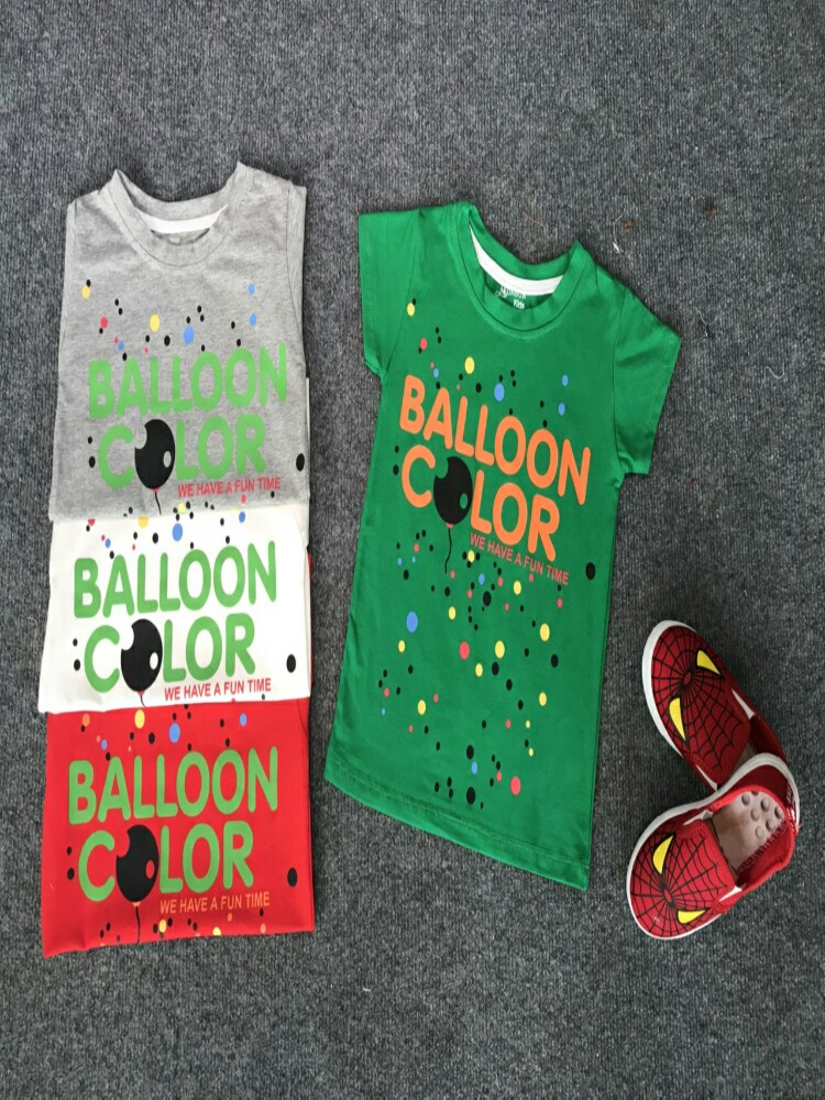 6BK22 Áo cotton 4D balloon 1-7t