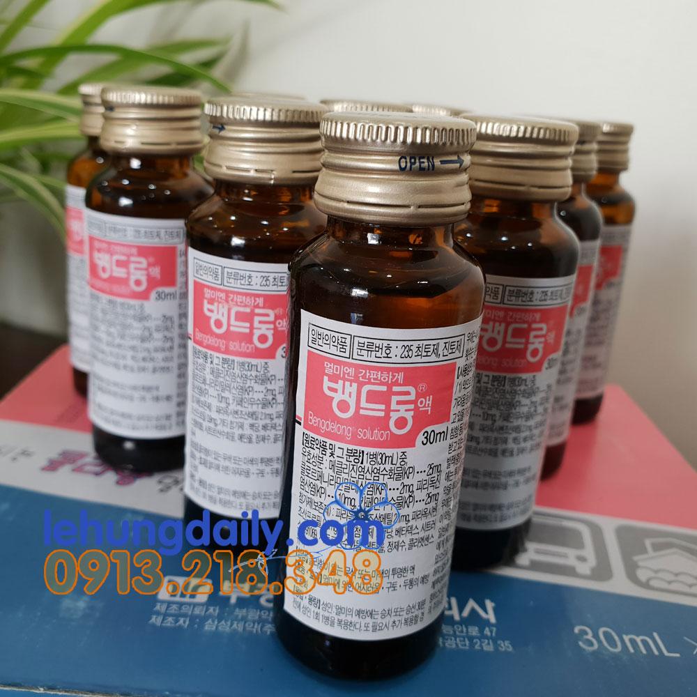 Thuốc Say Xe Thảo Mộc Hàn Quốc Bengdelong