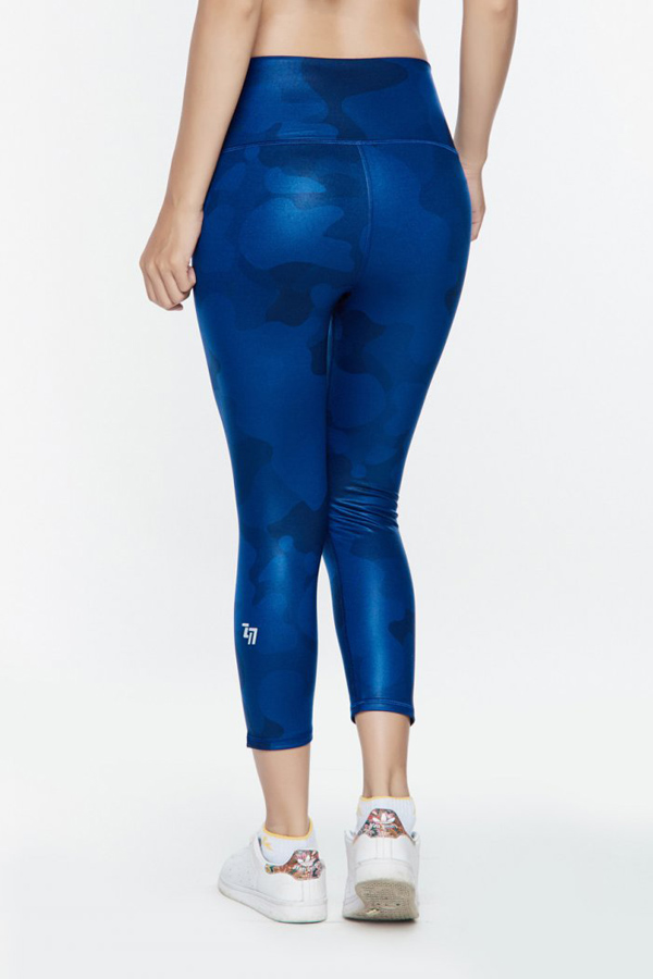 WOMEN HIGH-WAISTCAPRI